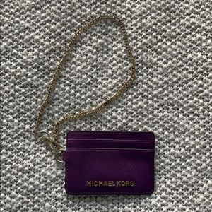 • Michael Kors ID Wallet Key Chain